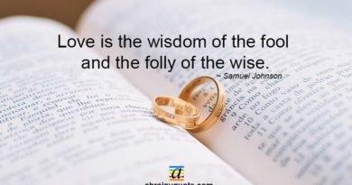 Samuel Johnson Quotes on Love and Wisdom