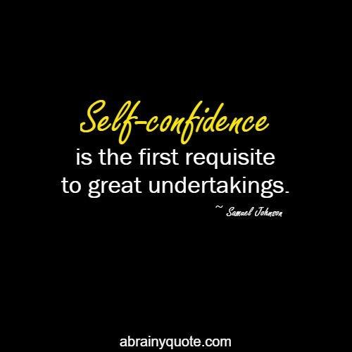 Samuel Johnson Quotes on Self-Confidence