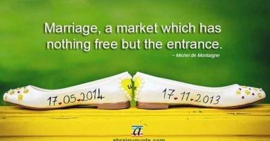 Michel de Montaigne Quotes on the Marriage Market