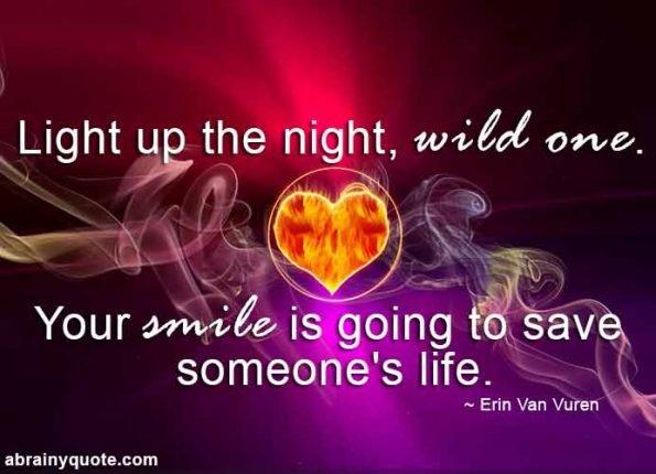 Erin Van Vuren Quotes on Light Up the Night, Wild One!