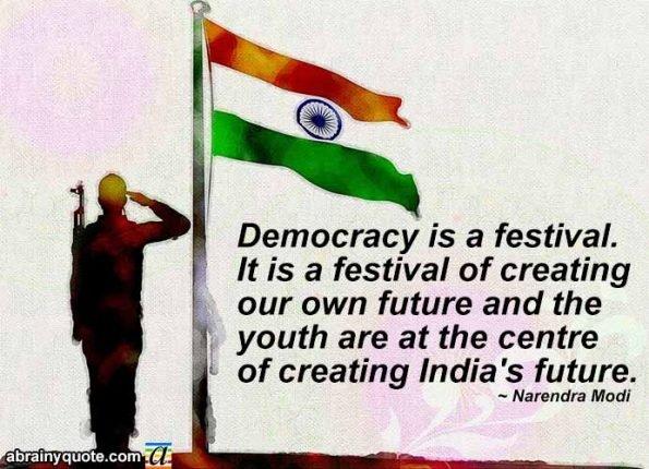 Narendra Modi Quotes on Creating India's Future