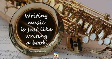Billie Eilish Quotes on Writing Music
