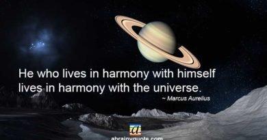 Marcus Aurelius Quotes on Living in Harmony